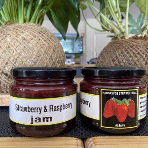 Strawberry and Raspberry Jam